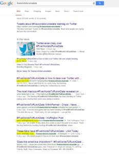 Twitter trends create news